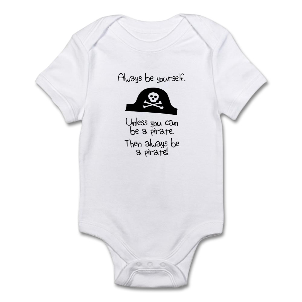 CafePress-Cute-Infant-Bodysuit-Baby-Romper-1325359944 thumbnail 4