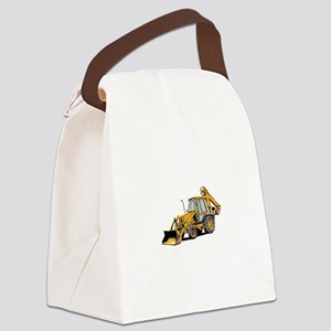 Earth Moving Tractor Canvas Lunch Bag