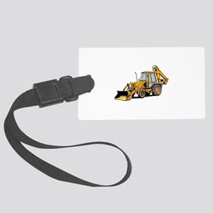 Earth Moving Tractor Luggage Tag