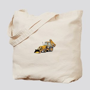 Earth Moving Tractor Tote Bag