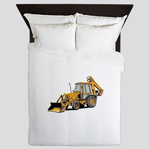 Earth Moving Tractor Queen Duvet