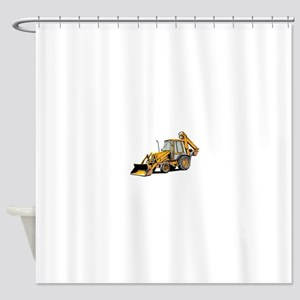 Earth Moving Tractor Shower Curtain