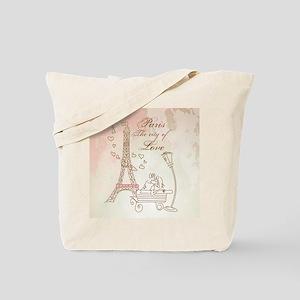 Paris - Eiffel Tower Tote Bag