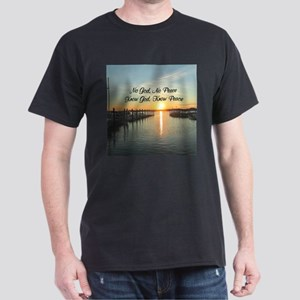 GOD IS PEACE Dark T-Shirt