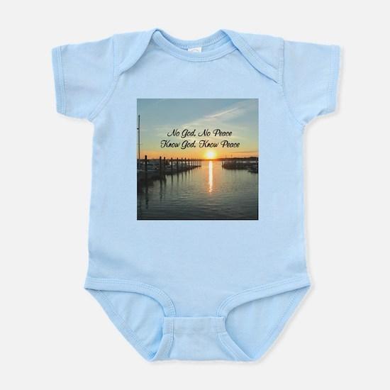 GOD IS PEACE Infant Bodysuit