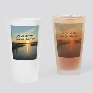 GOD IS PEACE Drinking Glass