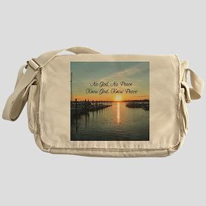 GOD IS PEACE Messenger Bag