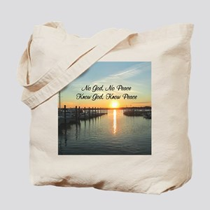 GOD IS PEACE Tote Bag