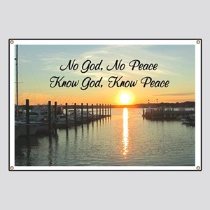 GOD IS PEACE Banner