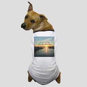 GOD IS PEACE Dog T-Shirt