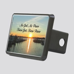 GOD IS PEACE Rectangular Hitch Cover