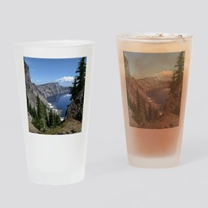 Crater Lake, Oregon Drinking Glass