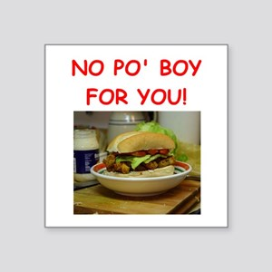 po boy Sticker