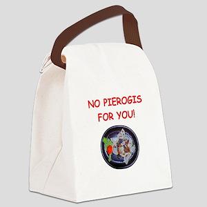 pierogis Canvas Lunch Bag