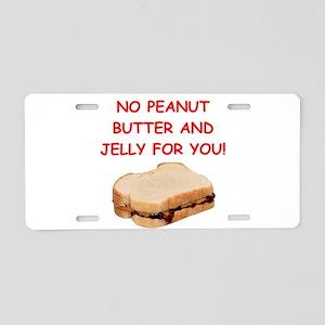 pbj Aluminum License Plate