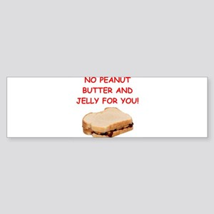pbj Bumper Sticker