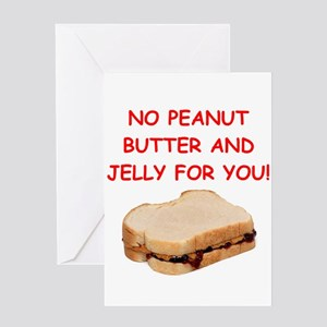 pbj Greeting Cards