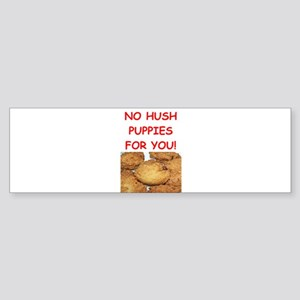 hush Bumper Sticker
