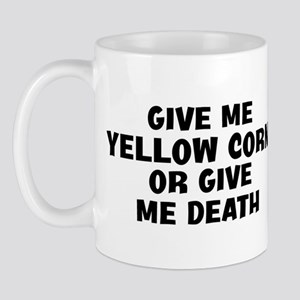 Give me Yellow Corn Mug
