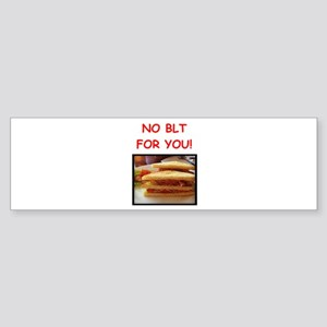 blt Bumper Sticker