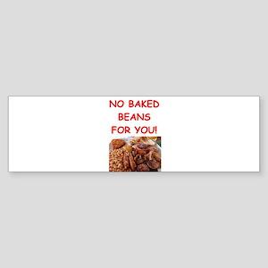 baked beans Bumper Sticker