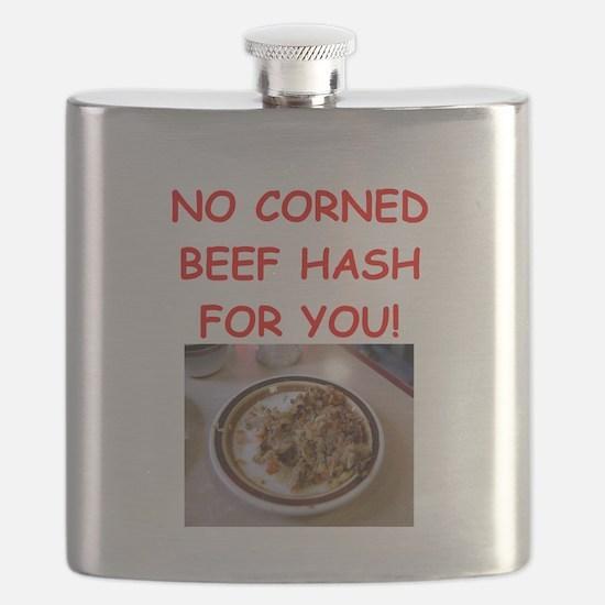 corned beef HASH Flask