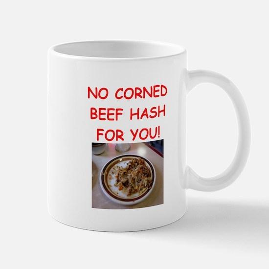 corned beef HASH Mugs
