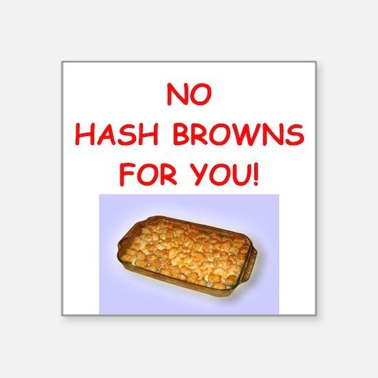 hash browns Sticker