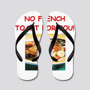 french toast Flip Flops
