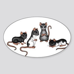 cute rats Sticker