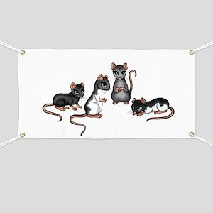 cute rats Banner