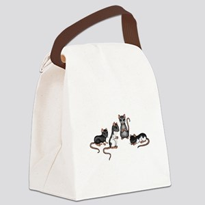 cute rats Canvas Lunch Bag