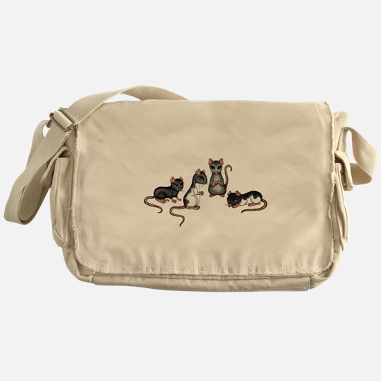cute rats Messenger Bag