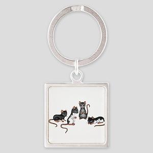 cute rats Keychains