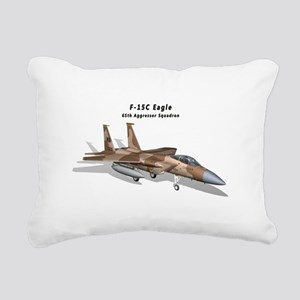 F-15C Eagle 65th AGRS Rectangular Canvas Pillow