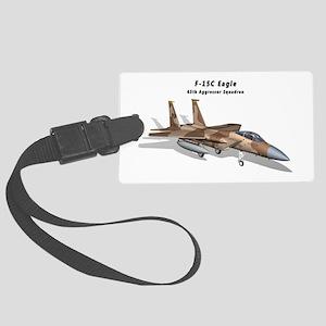 F-15C Eagle 65th AGRS Large Luggage Tag
