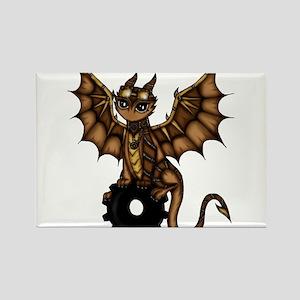 Steampunk Dragon Magnets