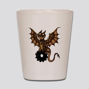 Steampunk Dragon Shot Glass