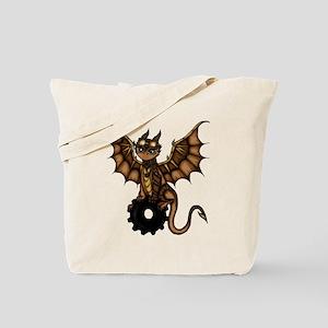 Steampunk Dragon Tote Bag