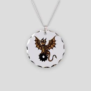 Steampunk Dragon Halskette