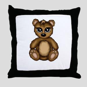 cute Teddy Throw Pillow