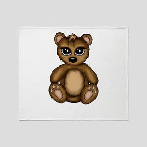 cute Teddy Throw Blanket