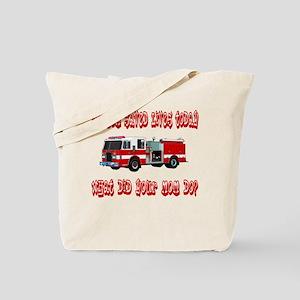 Saved Lives Today-Mom Tote Bag