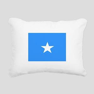 Somalia Flag Rectangular Canvas Pillow