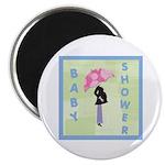 Baby Shower Blue Magnet