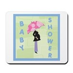 Baby Shower Blue Mousepad