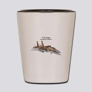 F-15C Eagle 65th AGRS Shot Glass