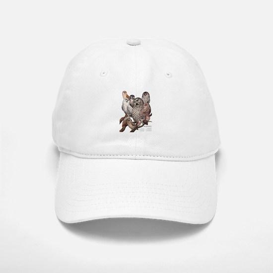 Owls of the Northeast Baseball Baseball Cap