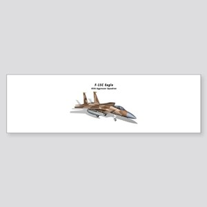F-15C Eagle 65th AGRS Sticker (Bumper)