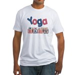 Yoga Baby #2 Fitted T-Shirt
